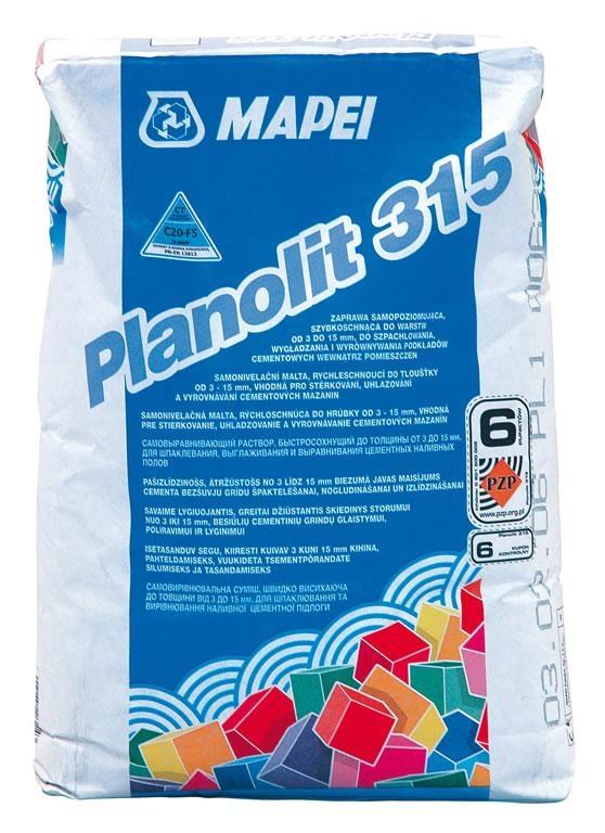 STAVEBNÍ CHEMIE - MAPEI PLANOLIT 315   23kg rychletvrdnoucí samonivelační stěrka