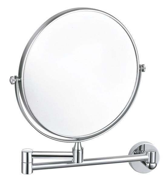 KOUPELNOVÉ DOPLŇKY - COLORADO Kosmetické zrcátko kulaté, otočné, jedna strana zvětšovací COA1100