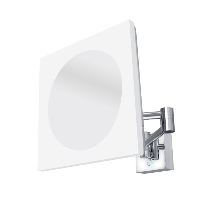 KOUPELNOVÉ DOPLŇKY - Nimco Série 20400 ZK 20465-26 Kosmetické podsvícené LED zrcátko Chrom