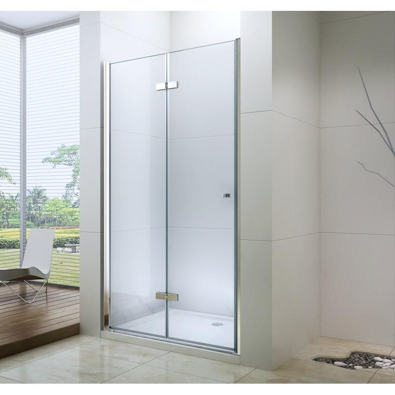 SPRCHOVÉ KOUTY - MEXEN LIMA sprchové dveře zalamovací 95x190 cm 6mm, chrom-čiré 856-095-000-01-00