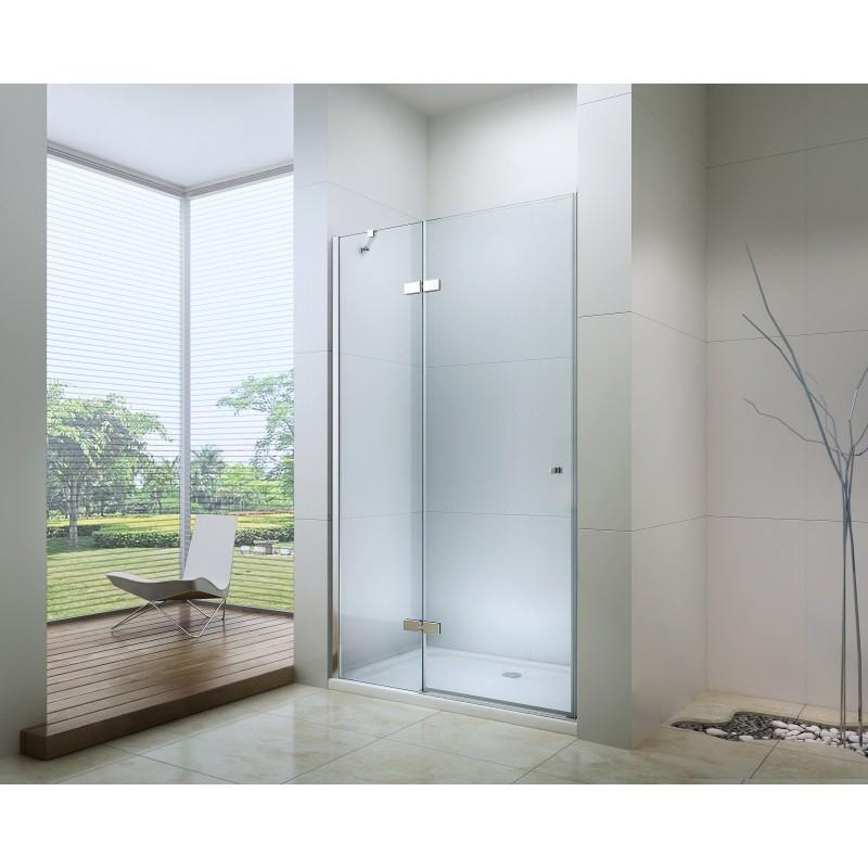 SPRCHOVÉ KOUTY - MEXEN ROMA sprchové dveře 115x190 cm 6mm, chrom-čiré 854-115-000-01-00