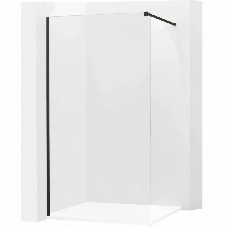 SPRCHOVÉ KOUTY - MEXEN profilová lišta pro KIOTO sprchovou stěnu, černá 800-00-70