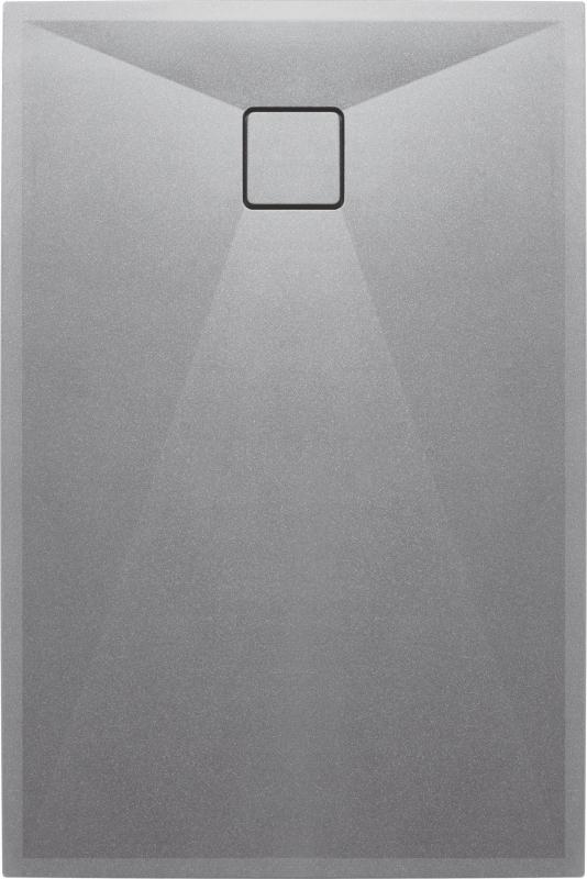 SPRCHOVÉ VANIČKY - DEANTE CORREO KQR_S44B Sprchová vanička 120x80cm, granit šedá