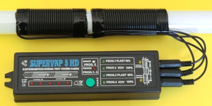 ELEKTRONICKÉ ÚPRAVNY VODY - Dr.VAP 5 HD - SuperVAP 5HD elektr. úpravna vody