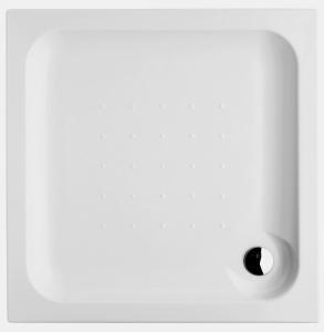 SPRCHOVÉ VANIČKY - Vanička JIKA DEEP akrylátová vanička samosnostná čtverec 80x80 H2.1182.1.000.000.1