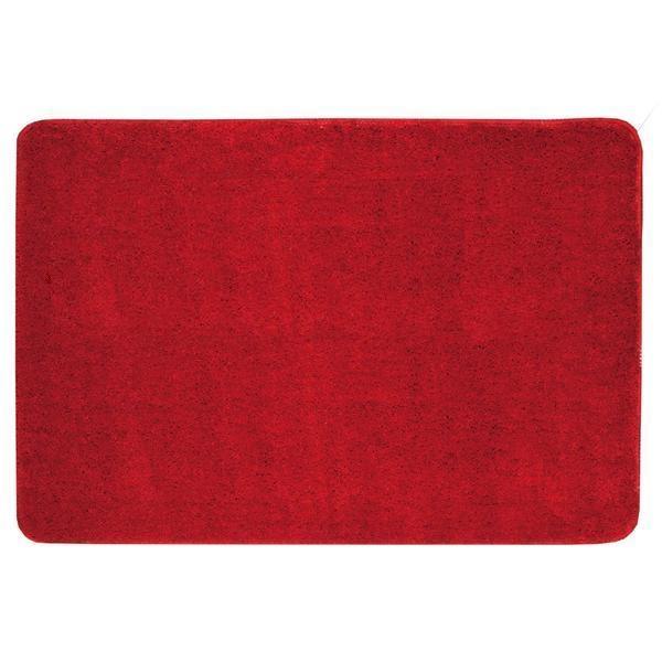 KOUPELNOVÉ DOPLŇKY - Koupelnová předložka 60x90cm PRED101 červená