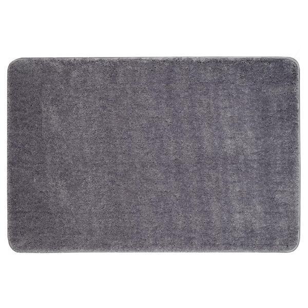 KOUPELNOVÉ DOPLŇKY - Koupelnová předložka 60x90cm PRED104 šedivá