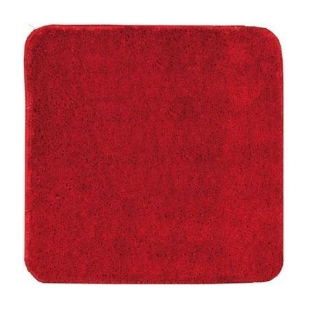 KOUPELNOVÉ DOPLŇKY - Koupelnová předložka 55x55 PRED301 červená