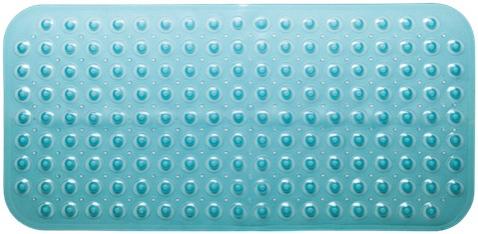 KOUPELNOVÉ DOPLŇKY - Koupelnová předložka  PRED201 modrá PVC