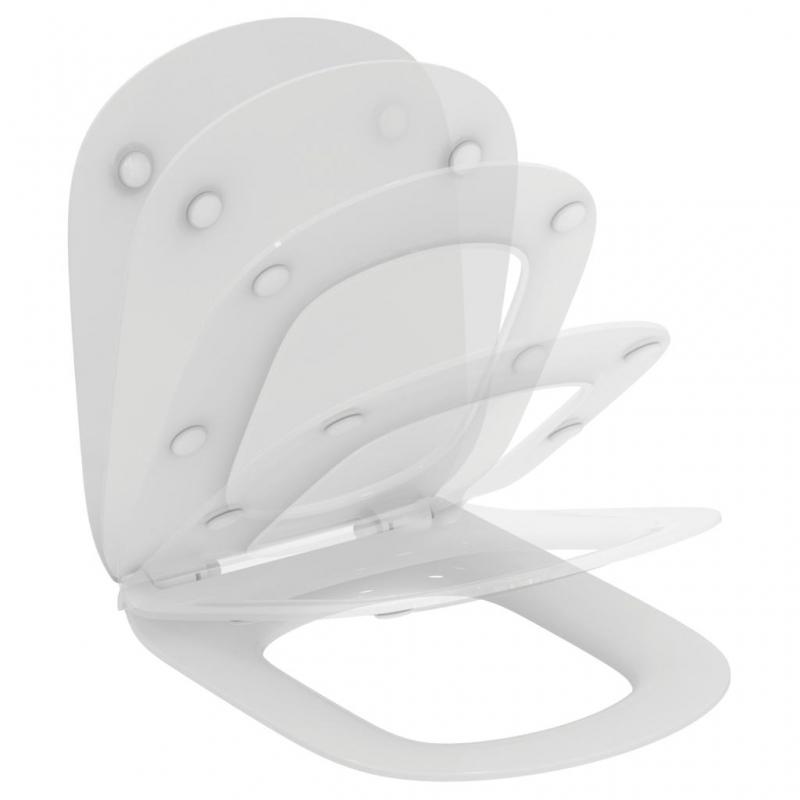 WC SEDÁTKA - Ideal Standard TESI  T352701 sedátko ultra ploché - Soft-Close