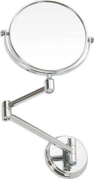 KOUPELNOVÉ DOPLŇKY - BEMETA OMEGA: Kosmetické zrcátko O135 mm oboustranné 106301122
