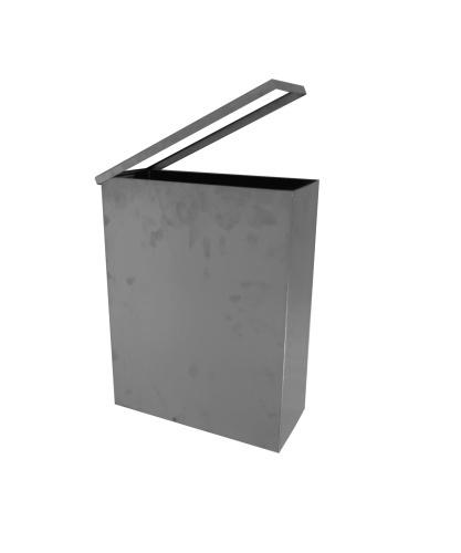 KOUPELNOVÉ DOPLŇKY - BEMETA NEO odpadkový koš - závěsný hranatý,125115045, nerez mat,15,5x35,5x46