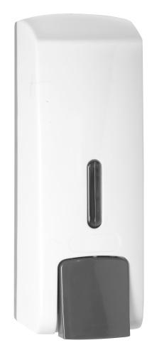 KOUPELNOVÉ DOPLŇKY - BEMETA dávkovač tekutého mýdla plast bílý 300 ml 121209144
