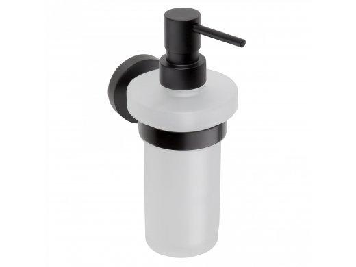 KOUPELNOVÉ DOPLŇKY - BEMETA DARK BLACK 104109010 dávkovač mýdla
