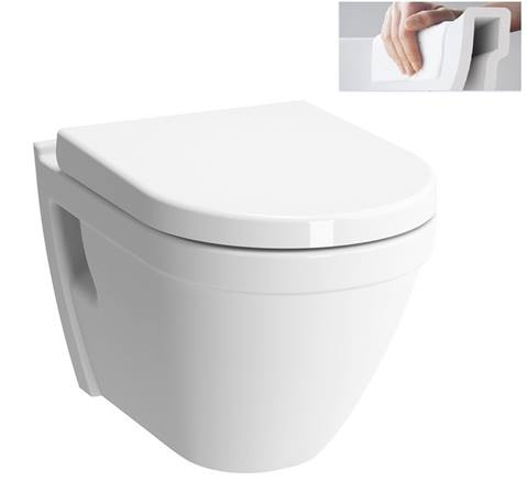 SANITÁRNÍ KERAMIKA - VITRA S50 WC závěsné Rim-Ex 7740-003-0075
