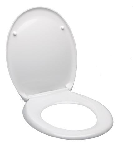 WC SEDÁTKA - GLACERA EASY sedátko soft close-kovové panty EASY2233