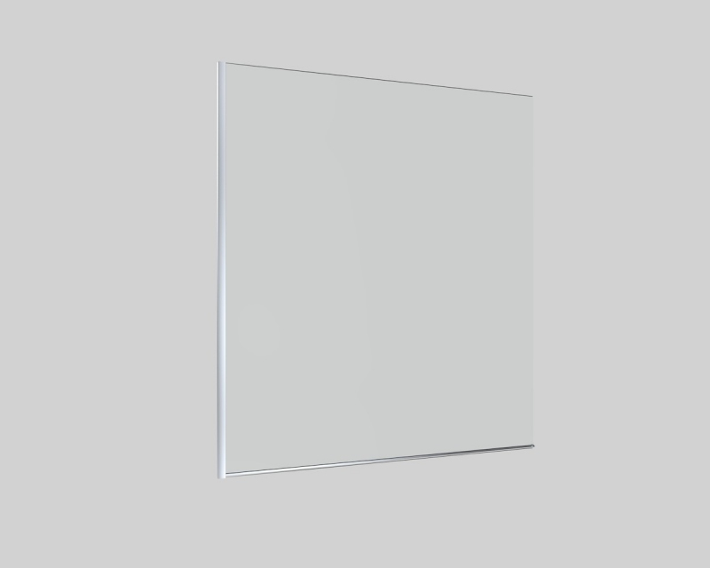 VANOVÉ ZÁSTĚNY - LAGUNA  vanová zástěna 80x150cm, sklo čiré SIKOVZPEV150