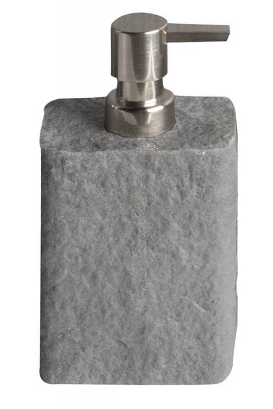 KOUPELNOVÉ DOPLŇKY - ARIES AR8008 dávkovač 350ml  ,šedá /polyresin/