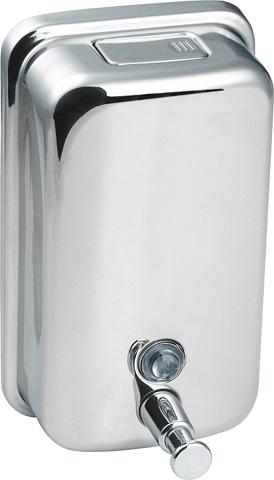 KOUPELNOVÉ DOPLŇKY - DM1250NRZ dávkovač mýdla nástěnný,nerez, 1250 ml