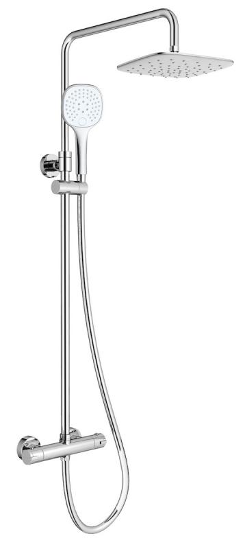 VODOVODNÍ BATERIE - Sprchový set  s termostatickou baterií