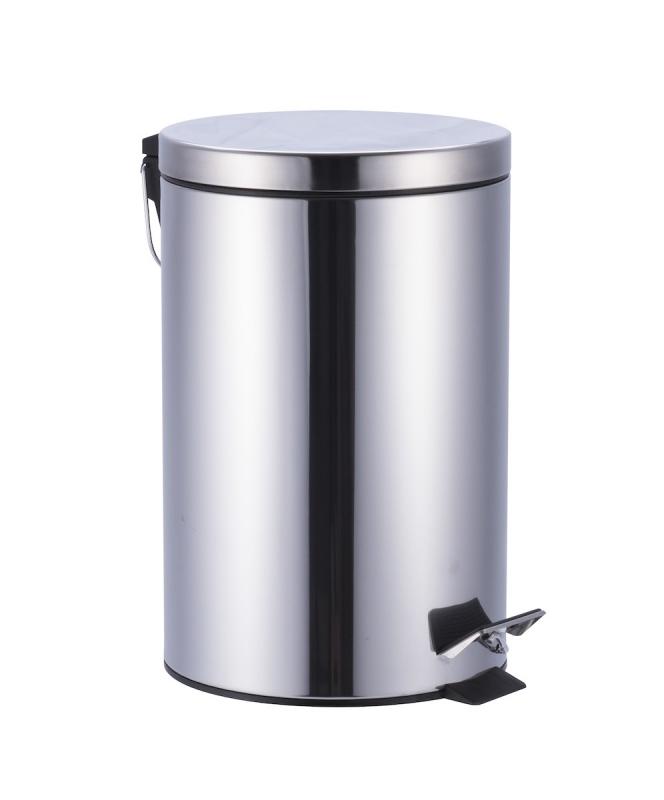 KOUPELNOVÉ DOPLŇKY - Odpadkový koš 12l, KOS12NEW nerez lesk,soft close