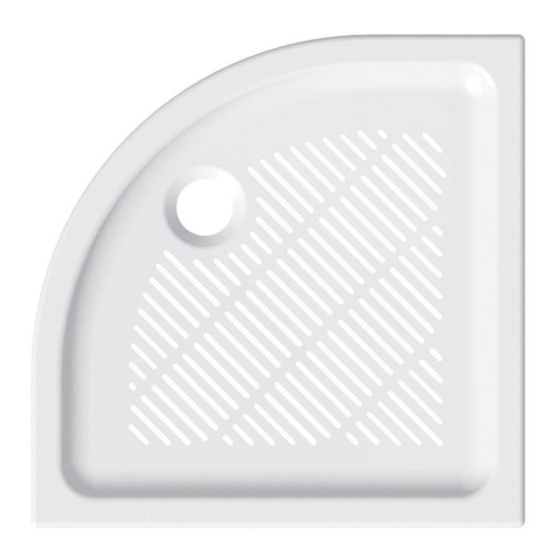 SPRCHOVÉ VANIČKY - Mereo Sprchová vanička R550, 80x80x6,5 cm, keramika, bílá M-CV14X