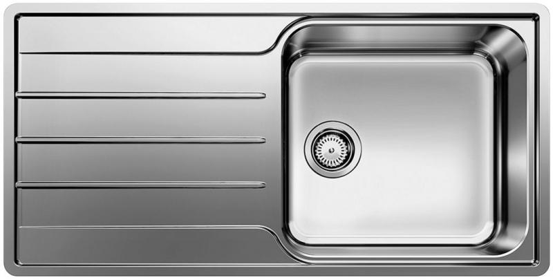 KUCHYŇSKÉ DŘEZY - Blanco LEMIS XL 6S-IF  523034 dřez s odkapem,oboustr. nerez kartáčovaná, vestav/do roviny