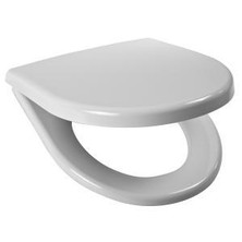 JIKA LYRA PLUS/TIGO sedátko pro závěsné WC, nerez fix H8.9338.4.300.063.1