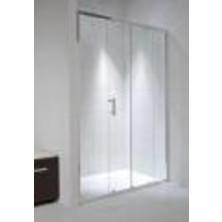 CUBITO PURE 1000/1950 dvojdílné sprch.dveře, stříbrná,sklo Transparent H2.4224.3.002.668.1