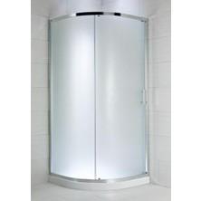 CUBITO PURE 800/1950 sprchový kout 1/4, stříbrná, sklo Transparent H2.5324.1.002.668.1