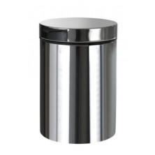 BEMETA odpadkový závěsný koš, 3L, nerez lesk 125115051
