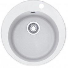 FRANKE F1396 dřez 114.0284.726 Rondo ROG 610  510mm fragranit bílá led