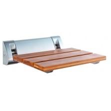 Sprchové sedátko AE236 32x32,5cm, sklopné, bambus
