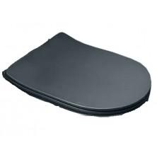 GLACERA  ALFA WC sedátko slim, soft close AL030SBL černé