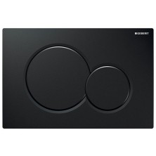 GEBERIT ovládací tlačítko SIGMA 01 černé 115.770.DW.5