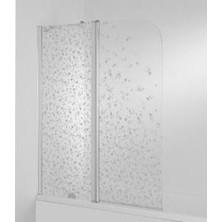 Vanová zástěna CUBITO 140x115, levá, 2díl, transparentní sklo, H2.5642.6.002.668.1